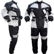 Protekt Wear Echipament Moto Complet 2 Piese Pantaloni si Jacheta