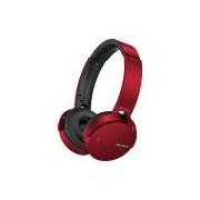 Fones De Ouvido Bluetooth Sony MDR-XB650BT EXTRABASS (Vermelho)