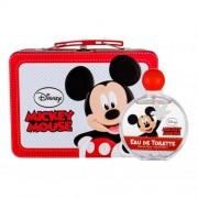 Disney Mickey Mouse подаръчен комплект EDT 100 ml + метална кутия