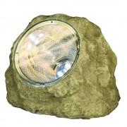Star Trading Solenergi sten med 3 LED 16x13x12cm med ljussensor