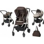 Carucior copii Bebe Confort Stroller Trio Loola Excel 3 in 1 Earth Brown