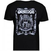 Orange Lady Crest BLK S T-Shirt