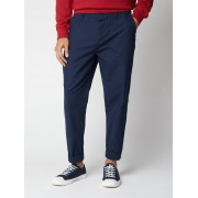 Ben Sherman Signature Navy Relaxed Canvas Trousers 34L Dark Navy