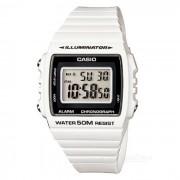 Reloj de los hombres de CASIO W-215H-7AVDF - blanco + negro (sin la caja)