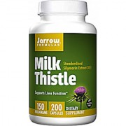 Jarrow Formulas Milk Thistle 150 Mg - 200 Capsules