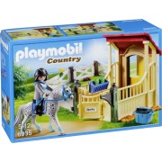 Playmobil Country 6935 Horse Stable with Appaloosa