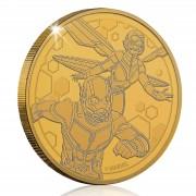 Koin Limited Moneda de Colección Marvel Ant-Man y la Avispa - Edición Limitada Dorada Vintage (Exclusiva de Zavvi)
