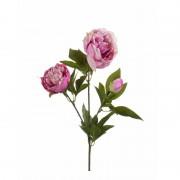 Geen Plastic pioenrozen bloem pink