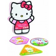 Vilac Hello Kitty 3 Evolutive Wood Puzzle