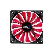 Cooler Fan 14cm SHARK DEVIL RED EDITION LED EN55475 Vermelho AEROCOOL