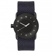 TID Watches TID No.1 Svart Armbandsur 33mm, Lake Twain