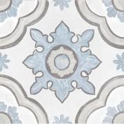 Tegel Greatstone Cifre Basma White Keramiek Meerkleurig Mat 20x20