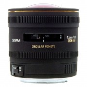 Sigma 4.5mm F2.8 EX HSM fisheye Obiectiv pentru Canon EF-S