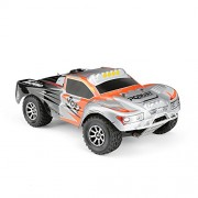 FunTech Entry Level 4WD High Speed RC Truck Remote Control Trucks 1:18 Scale Off-Road 2.4-Ghz All Terrain Electric Cars 4x4 (Orange)