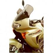 MRA Motorrad Windschutzscheibe MRA Tourenscheibe rauchgrau Honda XL 650 V Transalp