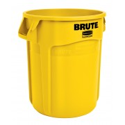 Rubbermaid Ronde Brute container 75,7 ltr, Geel (VB002620G)