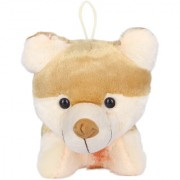 Ultra Soft Fox Shaped Brown Colored Toy for Kids 11 inches