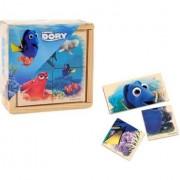Puzzle Walt Disney Finding Dory cub din lemn set 4piese