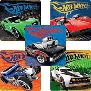 Classic Hot Wheels Stickers - Birthday Party Supplies & Favors - 75 per Pack