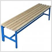 Kovová lavička z jaklového profilu 39x42x150cm LA03