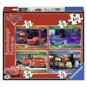 Ravensburger Disney Cars 2 puzzelset 4-in-1 - 12 + 16 + 20 + 24 stukjes