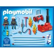 PlayMobil Pompieri Cu Pompa De Apa