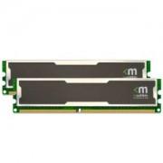 Memorie Mushkin Silverline Stiletto 2GB (2x1GB) DDR, 400MHz, PC3200, CL3, Dual Channel Kit, 996754