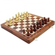 Kimaro 16 Foldable Premium Wooden Chess Game Board Set Ultimate tournament Chess Board