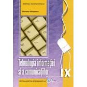 Tehnologia informatiei si a comunicatiilor. Manual pentru clasa a IX-a Milosescu