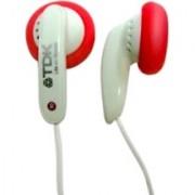 TDK E-120PK In-Ear Headphones (Red)