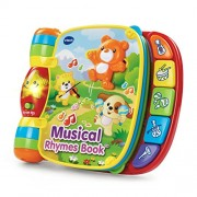 VTech Polyester Illuminations Musical Rhymes Book (Multicolour)