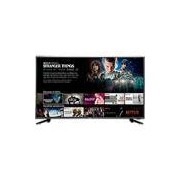 Smart TV LED 43 Philco PTV43f61DSWNT Ultra HD 4k com Conversor Digital 3 HDMI 2 USB Wi-Fi Closed Caption 60Hz - Preta