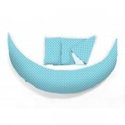 Възглавница за бременност и кърмене Nuvita DreamWizard 10 в 1, светло синя