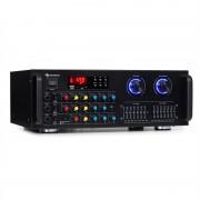 Auna Amp-Pro1 BT, PA усилвател, 2 x 50 W RMS, BT, USB, SD, 2-канален 7-лентов еквалайзер (JO2-AMP-PRO1)