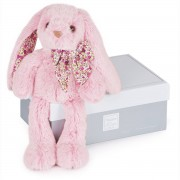 HISTOIRE D'OURS Kuschel-Hase in Rosa, 25 cm - HO2434