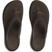 Clarks Balta Sun Dark Brown Flip Flops