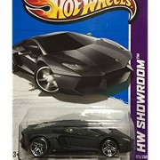 HOT WHEELS Hot Wheels Lamborghini Aventador lamborghini aventador LP 700-4 black # 173