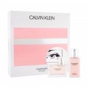 Calvin Klein Women zestaw Edp 50 ml + Mleczko do ciała 100 ml dla kobiet