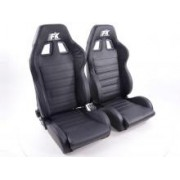 SPORT SEAT SET RACE 4 (1xleft/1xright) BLACK, BLUE or GRAY