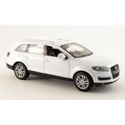 Audi Q7, white , Model Car, Ready-made, Welly 1:24