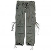 Brandit M-65 Pantalones de las señoras Verde Oliva 32