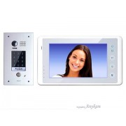 Anykam DT601FKP+27W Video Türsprechanlage Code Keypad Gegensprechanlage 2-Draht