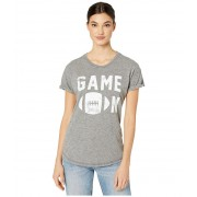 The Original Retro Brand Game On Mocktwist Rolled Short Sleeve Tee Mocktwist Heather Grey