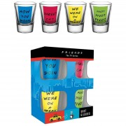 GB Eye Friends Quotes - Shot Glasses