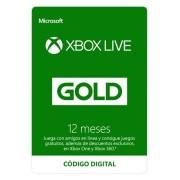 Microsoft Xbox Live Gold 12 meses - Código digital