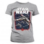 Red Squadron Girly T-Shirt