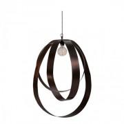 CIRCULO Ceiling lamp - Steel black