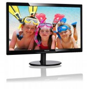 Philips 24in w-led 1920x1080 16:9 1ms 246v5ldsb/00 1000:1 dvi-d/hdmi in