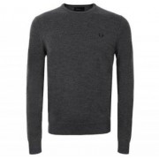 FRED PERRY Merino Wool Crew Neck (M)