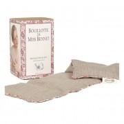 Mille Oreillers Bouillotte de Miss Bennet en lin naturel - 15 x 47 cm